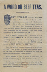 Advert For Bovril reverse(014EVA000000000U06232V00)